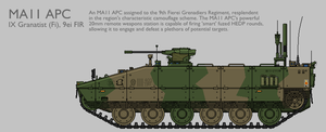 MA11 MAV(T) APC Production Standard [Coloured] by SixthCircle