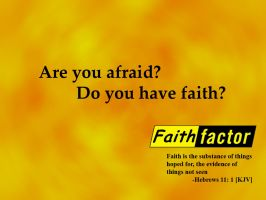 Faith factor by shaoron