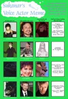 Voice Actor Meme by MintyMaguire