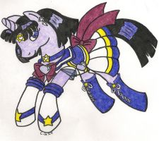S.Sailor Saturn Pony by CooperGal24