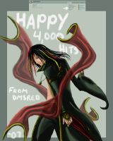 Happy 4000 by DmSexyRed