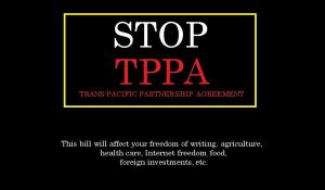 Stop TPPA by Xarti