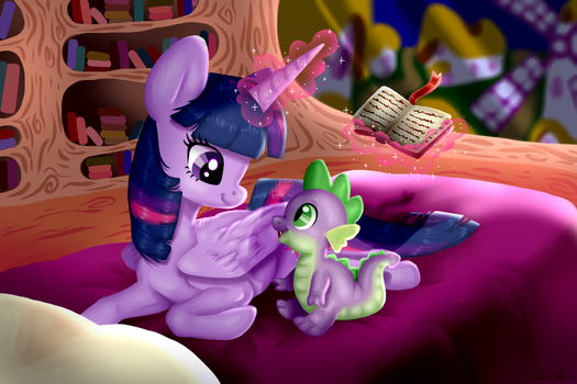 Story before bed by F0X1E