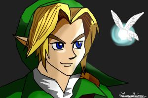 Ocarina of Time Link by FoReal100