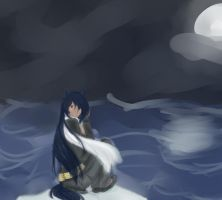 The Evening Sea by sayasamax3