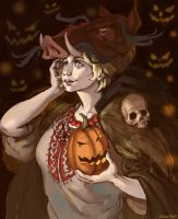 [APH] Ukraine (halloween) by GrovilleS