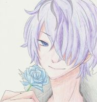 Garry Ib Pencil colo by Louna-Ashasou
