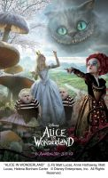 Alice Triptych Artwork - right by AliceInWonderland