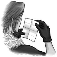 KH Simulacrum: Worn Letter by Naerko