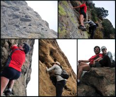 Andy and Julie Hit the Rocks by AndySerrano