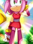 One Hour Sonic - Amy Boom by DanielasDoodles
