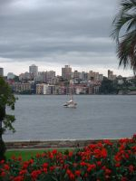 Boat in Sydney by 7whitefire7