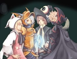 Final Fantasy III remodified.. by Unodu