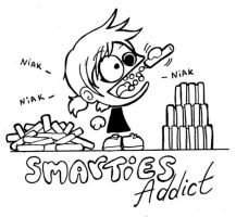 Smarties Addict by Kit-Kat-Choco