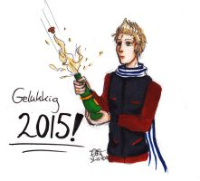 Happy new year, 2015 by AnnHolland