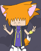 Foxxeh Neku by LovelySilversky