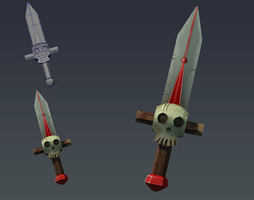 3D Prop - Sword by Whalzz