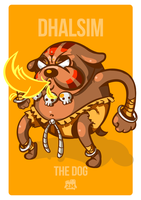 Dhalsim the DOG by 2MindsStudio