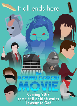 The Ronan Goron Movie poster by ReddiShadow