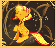 Sunset Shimmer by vanille913