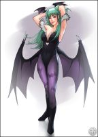 Morrigan Aensland by mullerpereira