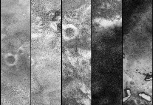Lakes, Trees Mars Orbiter Camera by JPrince8
