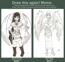 Before and After Meme by Naruneyl