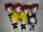 naruto plushies by ichigo-pan43