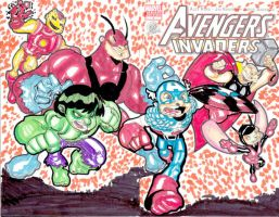 avengers assemble by kevtoons