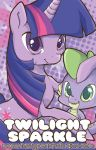 MLP: Twilight Sparkle and Spike by MoogleGurl