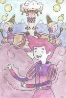 Prince Gumball and the Candy Kingdom by starbuxx