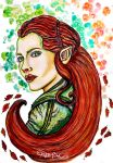 Tauriel by AlulaDreamsArt