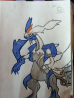 .:White Kyurem:. by RockinRayus