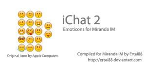 iChat 2 Emoticon Set by ertai88