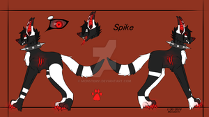 Spike Reference sheet by Monster51