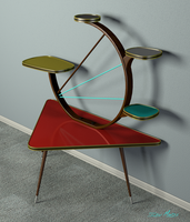 Mid-century Table by RayMontes