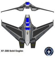 XF-308 bold eagle by bagera3005