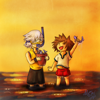 Soriku: Art Trade by Kiome-Yasha