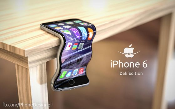 iPhone 6 Dali Edition (#bendgate) by JonDae