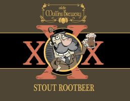 Braggart's XXX Stout Rootbeer by PanzerBanana