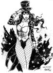 Commission - Zatanna by aaronminier