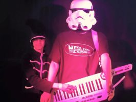 Storm trooper and I with a Keytar by sonicbobomb15