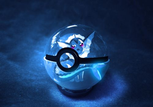 The Pokeball of Vaporeon by wazzy88