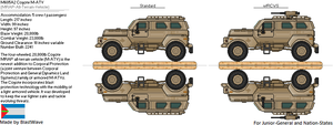 M605A2 Coyote M-ATV by BlastWaves