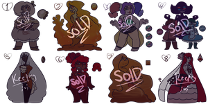 SU | Dessert Adopts Part 1/3 (Closed!) by Pioy