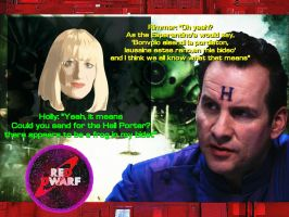 Rimmer And  Holly by Bryan2012