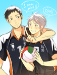 VOLLEYBALL BAES by shouu-kun