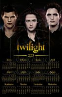 Twilight: Spanish Wall calendar 2013 by rickymanson