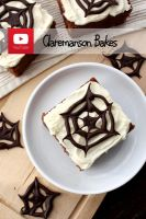 Chocolate Spider Webs by claremanson