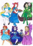 Artemis In Wonderland and The Wizard Of Titans by AimiisLoveBeautiful
